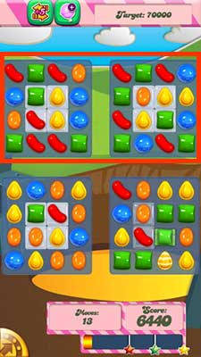 how to play level 33 candy crush