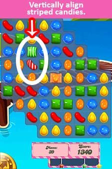 Candy Crush Saga Level 267 Help | Candy Crush Strategy, Tips and Hints