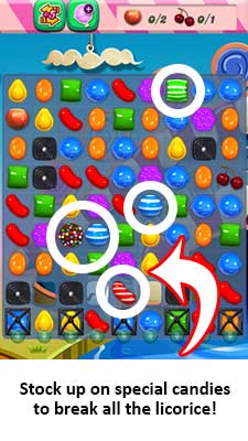 Bookmark Candy Crush Saga Tips Cheats How Do You Make The Wrapped
