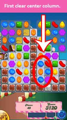 candy crush level 147 cheats pt 1