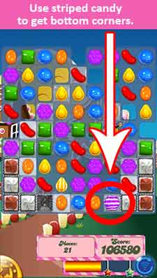 Candy Crush Level 147 Cheats and Tips - Candy Crush Saga Cheats