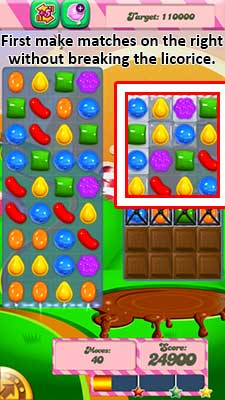 Candy Crush Level 70 Cheats and Tips - Candy Crush Saga Cheats