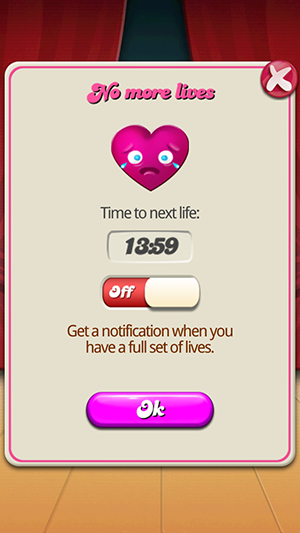 Candy Crush Free Lives Step 1