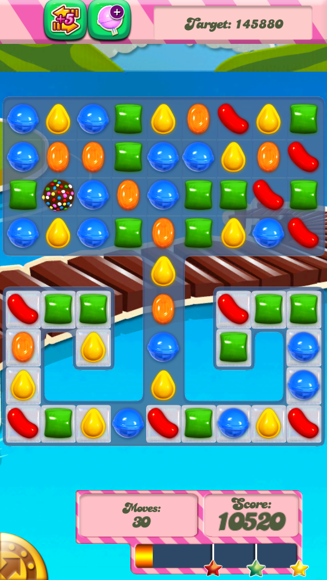 Candy Crush Level 133 Cheats and Tips