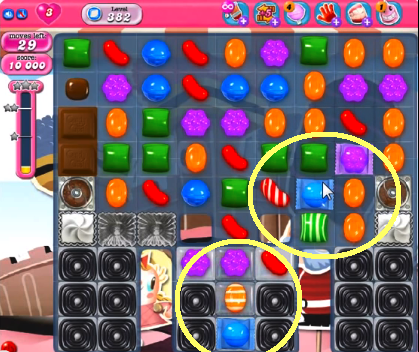 how to get to beginning of candy crush