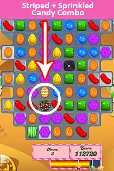 Candy Crush Level 125 Cheats & Tips