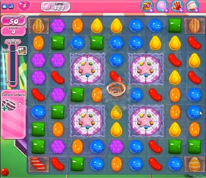 candy crush level 421