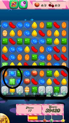 Candy Crush Level 101 Cheats and Tips