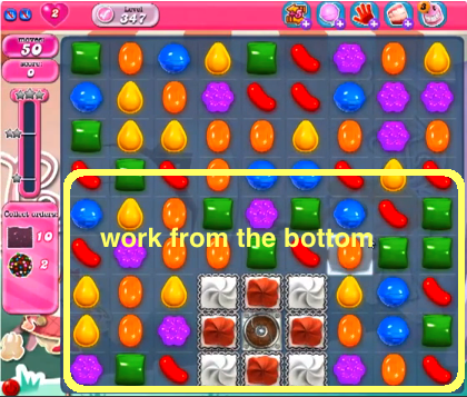 Candy Crush Level 347 Cheats and Tips