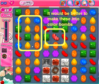 candy crush level 65 cheats tips candy crush saga these candy crush