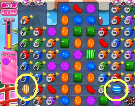 Candy Crush Level 374 Cheats and Tips - Candy Crush Saga Cheats