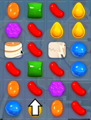 Candy Crush Wrapped Candy - Candy Crush Saga Cheats