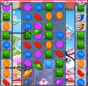 Candy crush level 372 cheats and tips candy crush saga for Candy crush fish