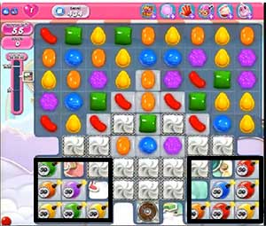 candy crush level 434