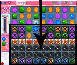 candy crush level 435