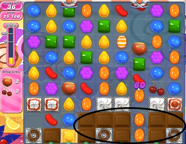 Candy Crush Level 291 Cheats and Tips
