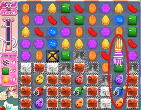 Candy Crush Level 345 Cheats and Tips