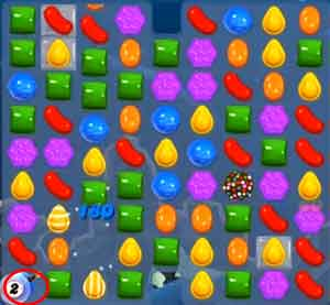 how to solve level 2349 in candy crush saga