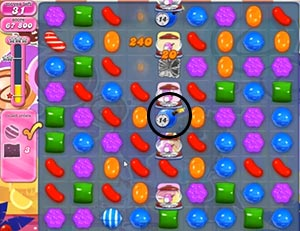 candy crush level 301