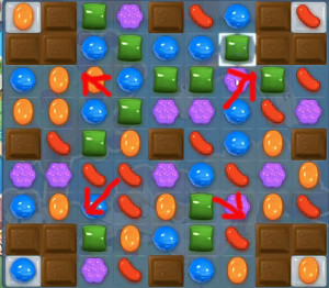 Candy Crush Level 63 Cheats and Tips