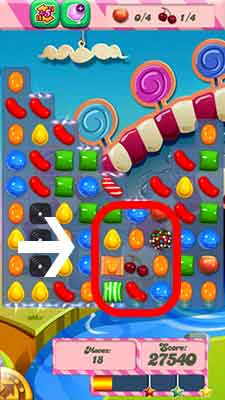 Candy Crush Level 87 Cheats and Tips