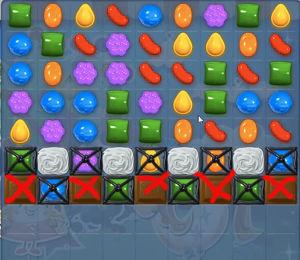 Candy Crush Saga Dreamworld Level 64 Cheats and Tips