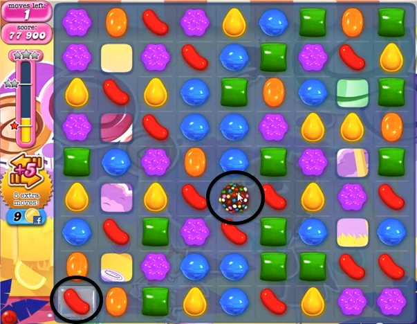 Candy Crush Level 295 Cheats and Tips