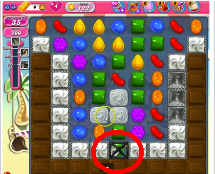 candy crush level 122 cheats and tips candy crush saga