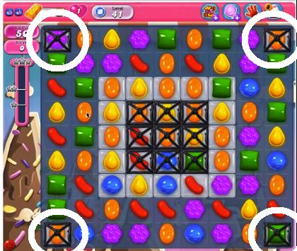 Candy Crush Level 41 Cheats and Tips - Candy Crush Saga Cheats