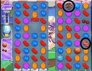 Candy Crush Saga Dreamworld Level 66 Cheats and Tips