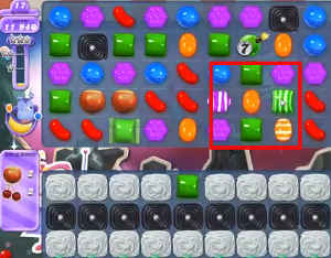Candy Crush Saga Dreamworld Level 102 Cheats