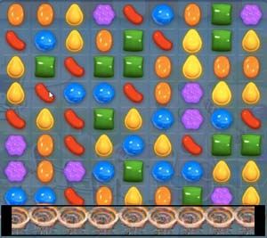 Candy Crush Saga level 529