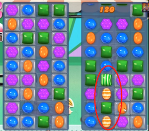 candy crush level 16