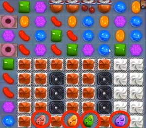 candy crush level 255