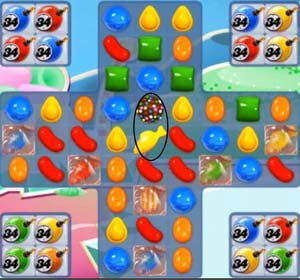 candy crush level 258