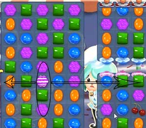 candy crush level 364