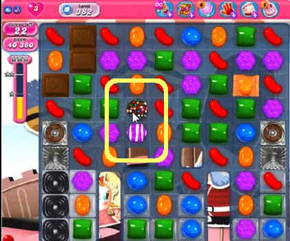 candy crush level 382