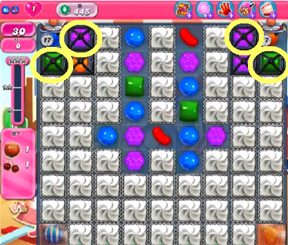 Candy Crush Level 445 Cheats and Tips - Candy Crush Saga Cheats