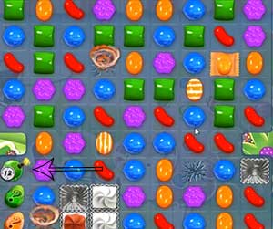 candy crush level 464