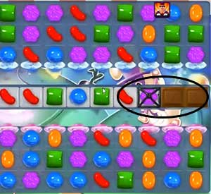 Candy Crush Dreamworld Level 77 Cheats and Tips