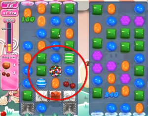 candy crush level 344