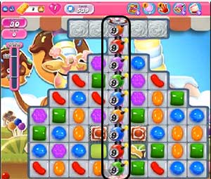 Candy Crush Level 539 Cheats and Tips