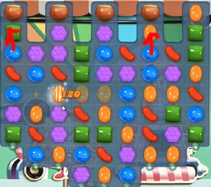 candy crush level 17
