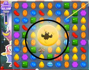 candy crush level 110