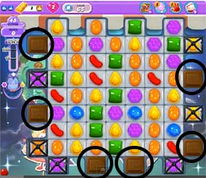 candy crush level 65