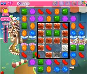 candy crush level 151