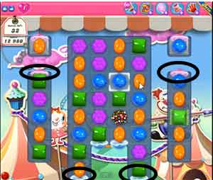 Candy Crush Level 183 Cheats and Tips
