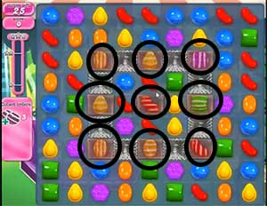Candy Crush Level 412 Cheats and Tips