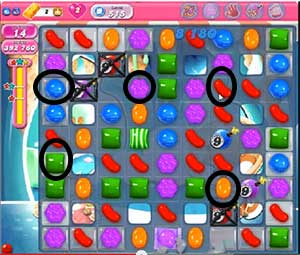 candy crush level 515