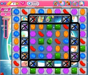 Candy Crush Level 515 Cheats and Tips